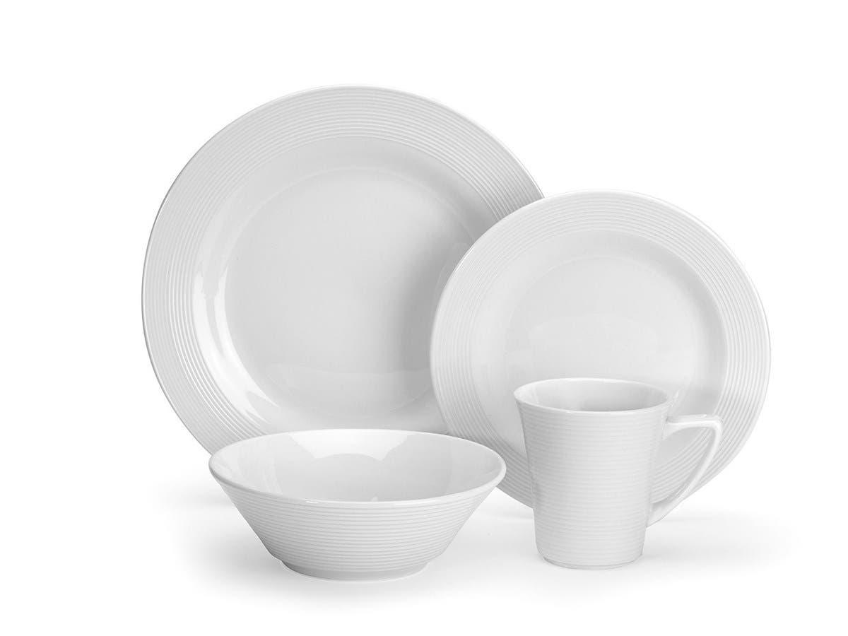 Cuisinart Marne Collection 16-Piece Porcelain Dinnerware Set