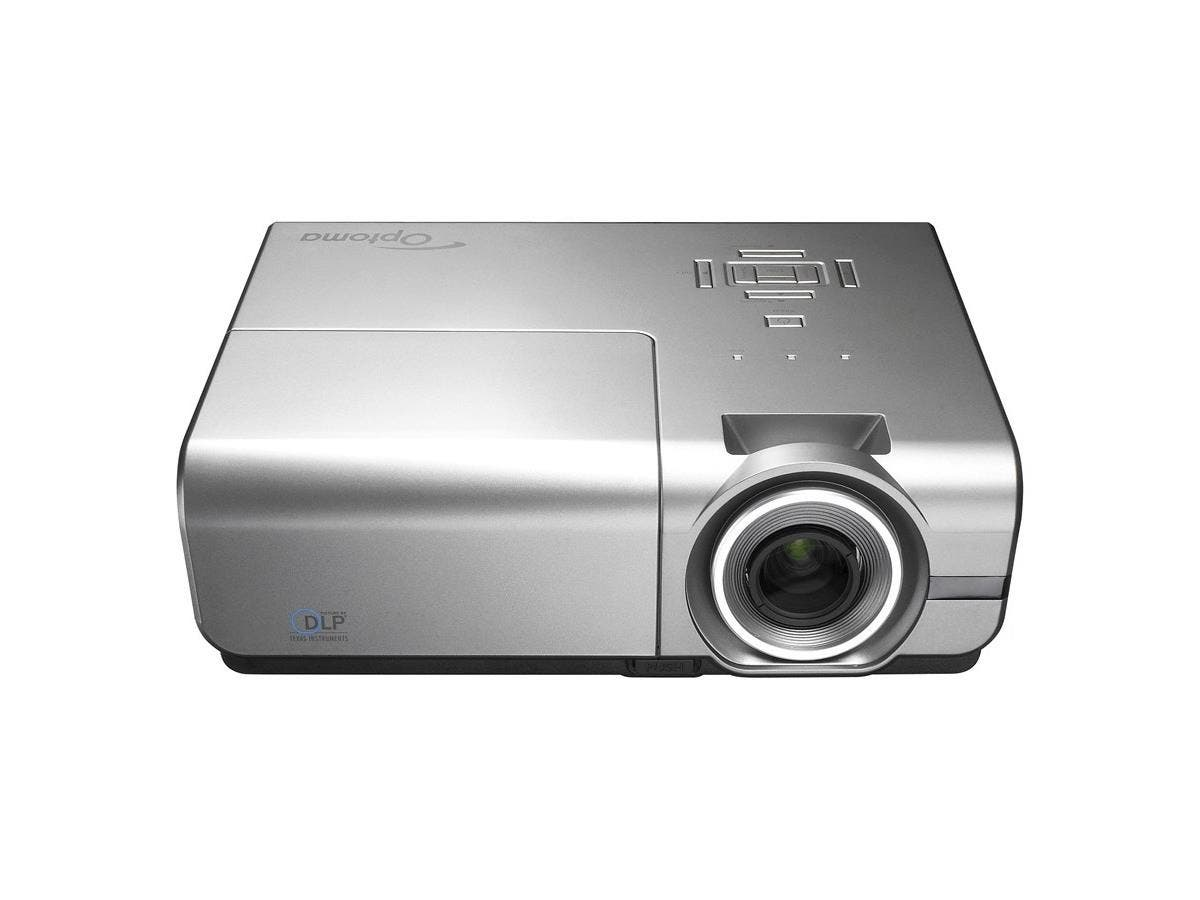 Optoma EH500 1080p 4700 Lumen Full 3D DLP Network Projector with HDMI - F/2.5 - 2.76 - PAL, SECAM, NTSC - 2500 Hour Normal Mode - 3500 Hour Economy Mode - 1920 x 1080 - Full HD - 10,000:1 - 4700 lm-Large-Image-1