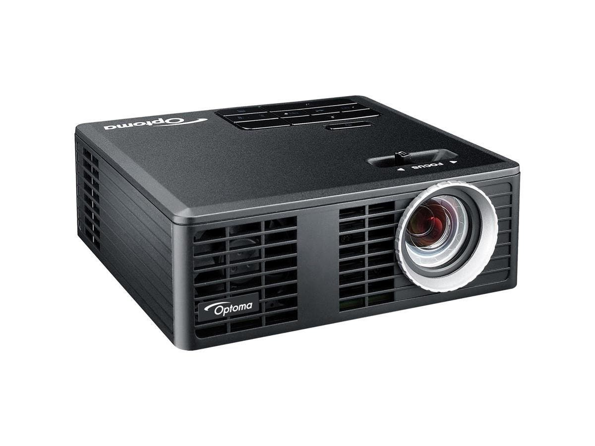 Optoma ML750 WXGA 700 Lumen 3D Ready Portable DLP LED Projector with MHL Enabled HDMI Port - 2 - LED - PAL, SECAM, NTSC - 20000 Hour Normal Mode - 1280 x 800 - WXGA - 10,000:1 - 700 lm - HDMI-Large-Image-1