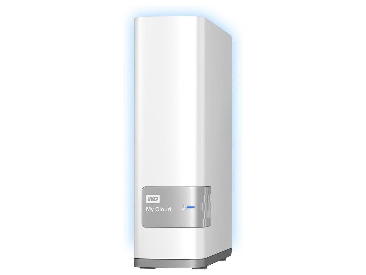 WD My Cloud Personal Cloud Storage - Dual-core (2 Core) - 1 x Total Bays - 4 TB HDD (1 x 4 TB) - Gigabit Ethernet - Network (RJ-45) - - UPnP