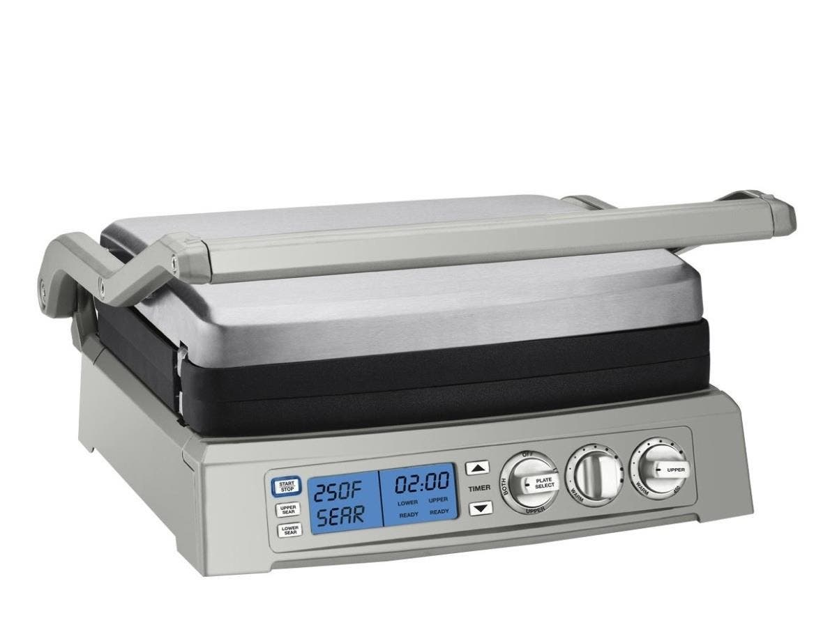 Cuisinart Griddler Elite - 2 Sq. ft. Cooking Area - Stainless Steel