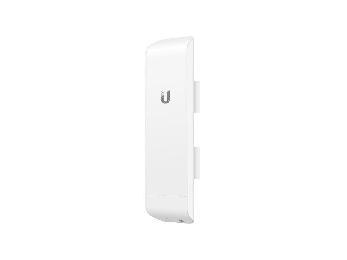Ubiquiti NanoStationM NSM5 IEEE 802.11n 150 Mbit/s Wireless Bridge - 5 GHz - 9.3 Mile Maximum Outdoor Range - MIMO Technology - 2 x Network (RJ-45) - PoE - Pole-mountable - 1 Pack-Large-Image-1