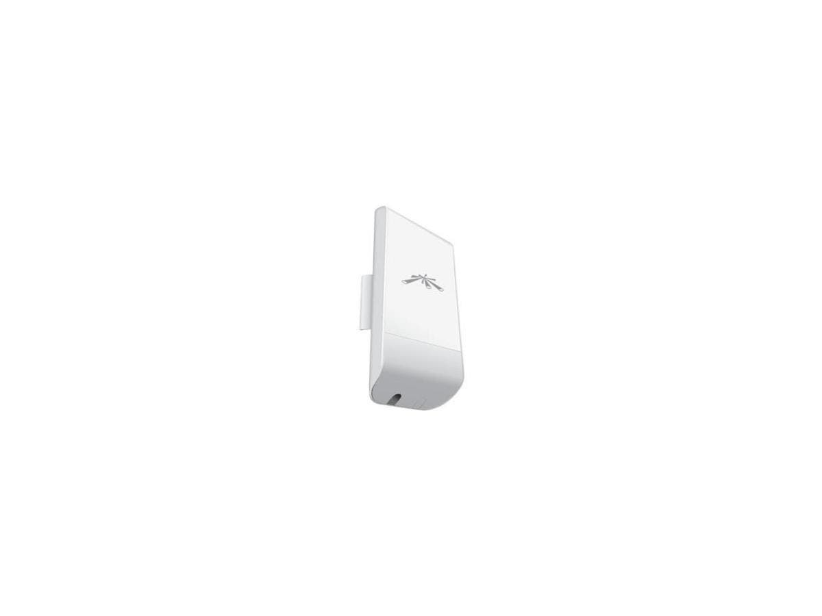 Ubiquiti NanoStationM LocoM2 IEEE 802.11n 150 Mbit/s Wireless Bridge - 2.40 GHz - 3.1 Mile Maximum Outdoor Range - MIMO Technology - 1 x Network (RJ-45) - Power Supply, PoE - Pole-mountable - 1 Pack