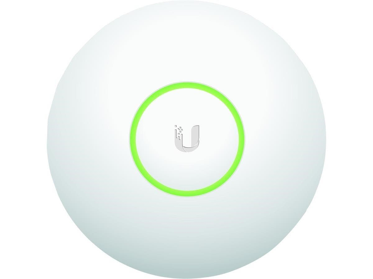 Ubiquiti UniFi UAP IEEE 802.11n 300 Mbit/s Wireless Access Point - 2.40 GHz - 3 x Antenna(s) - 400.3 ft Maximum Outdoor Range - MIMO Technology - 1 x Network (RJ-45) - PoE - Wall Mountable, Ceiling Mo