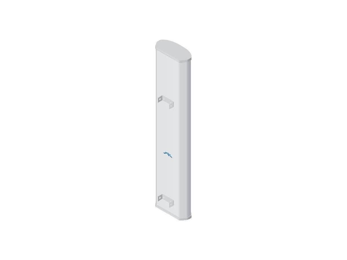 Ubiquiti 2x2 MIMO BaseStation Sector Antenna - Range - UHF - 902 MHz to 928 MHz - 13.8 dBi - Base StationSector-Large-Image-1