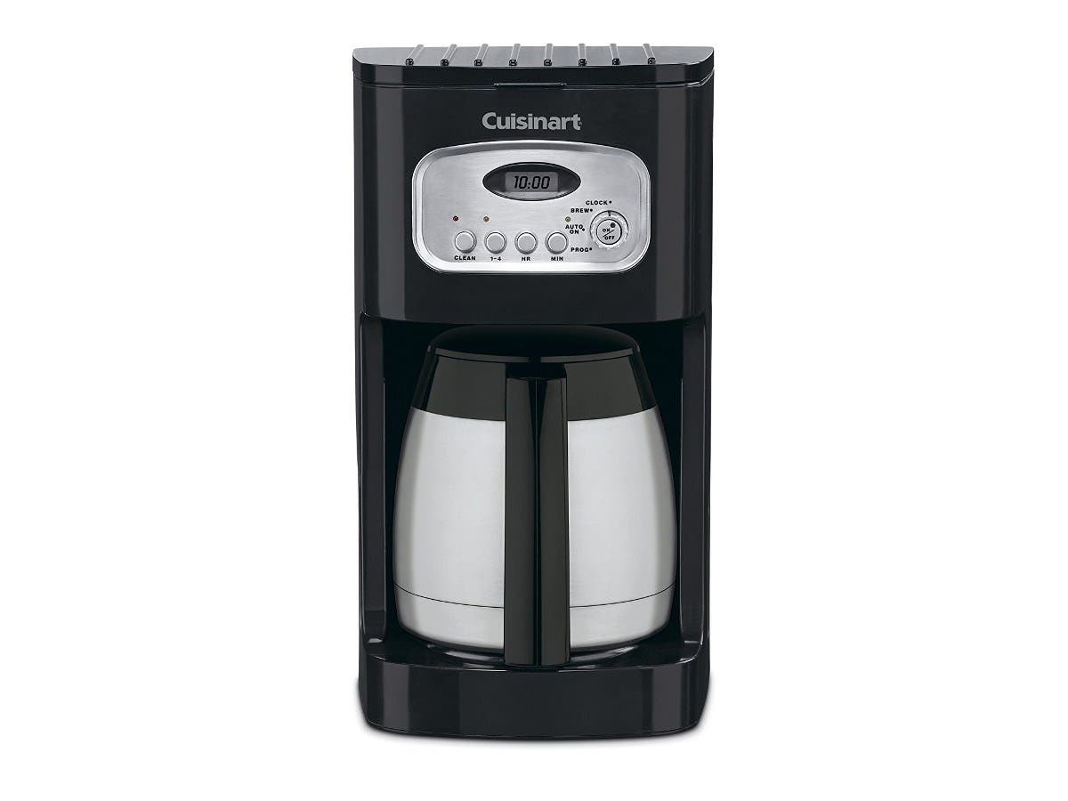 Cuisinart DCC-1150BK 10-Cup Classic Thermal Programmable Coffeemaker - Black (Refurbished)