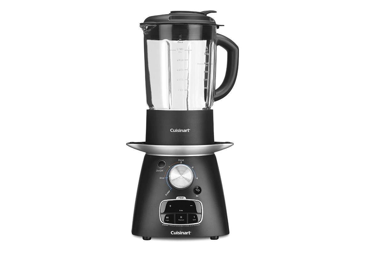 Cuisinart SBC-1000 Blend-and-Cook Soup Maker, Black (Refurbished)