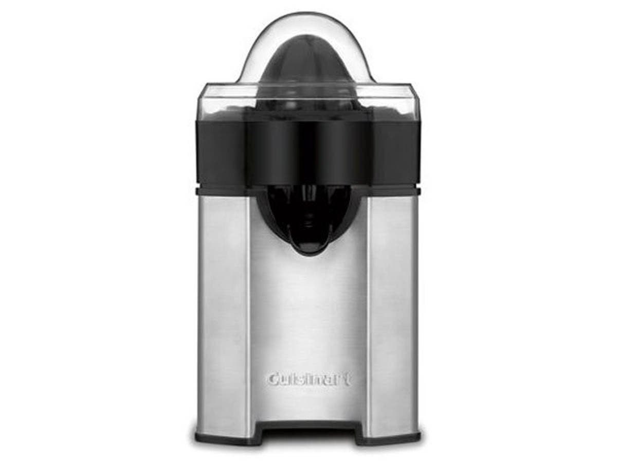 Cuisinart CCJ-500 Pulp Control Citrus Juicer, Brushed Stainless (Refubished)