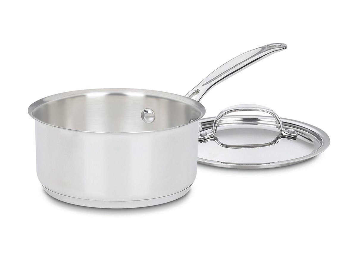 Cuisinart Chef's Classic Stainless 10-Piece Cookware Set - 77-10