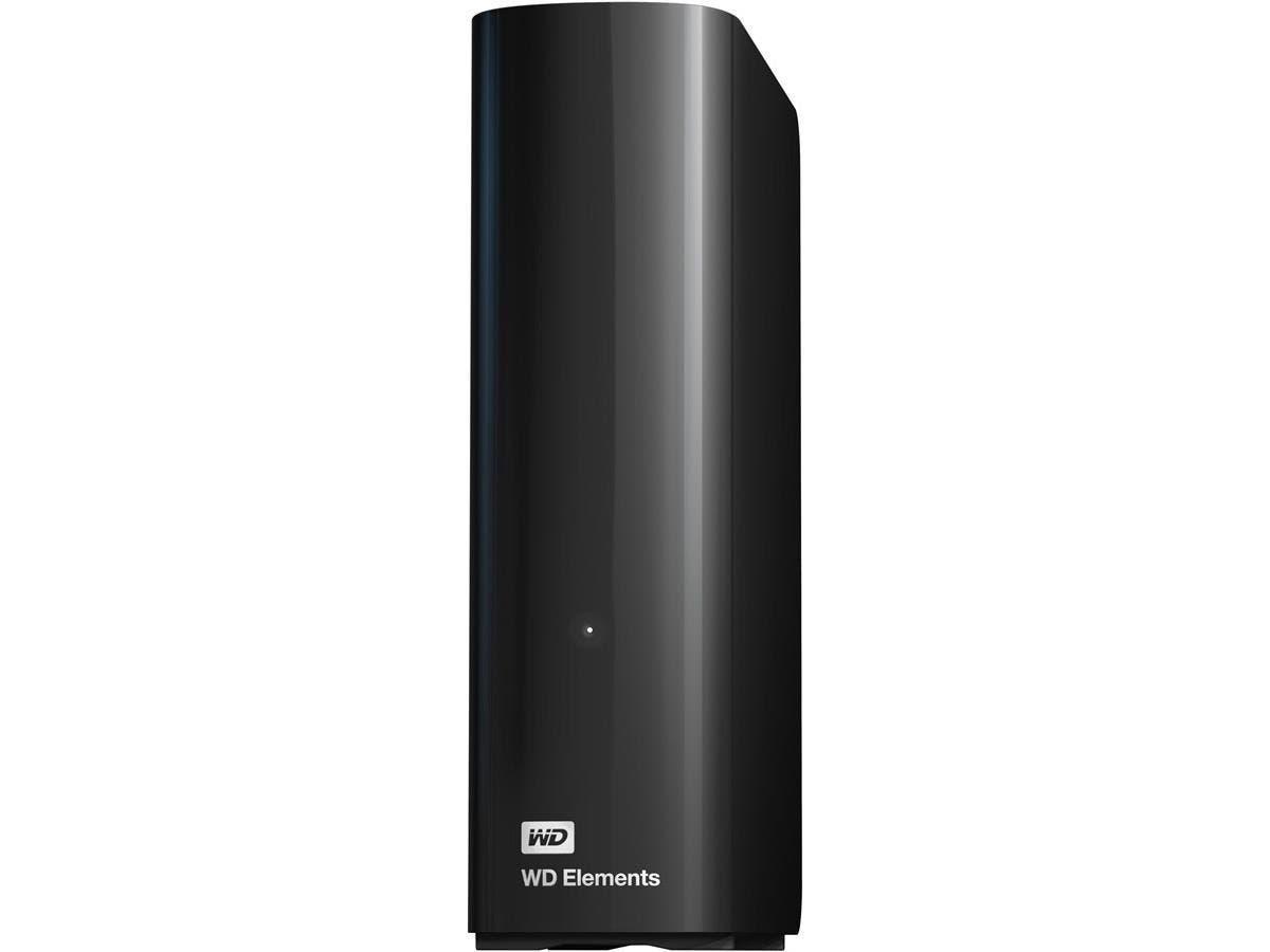 WD Elements WDBWLG0040HBK-NESN 4 TB External Hard Drive - USB 3.0 - Desktop - Black - 1 Pack - Retail