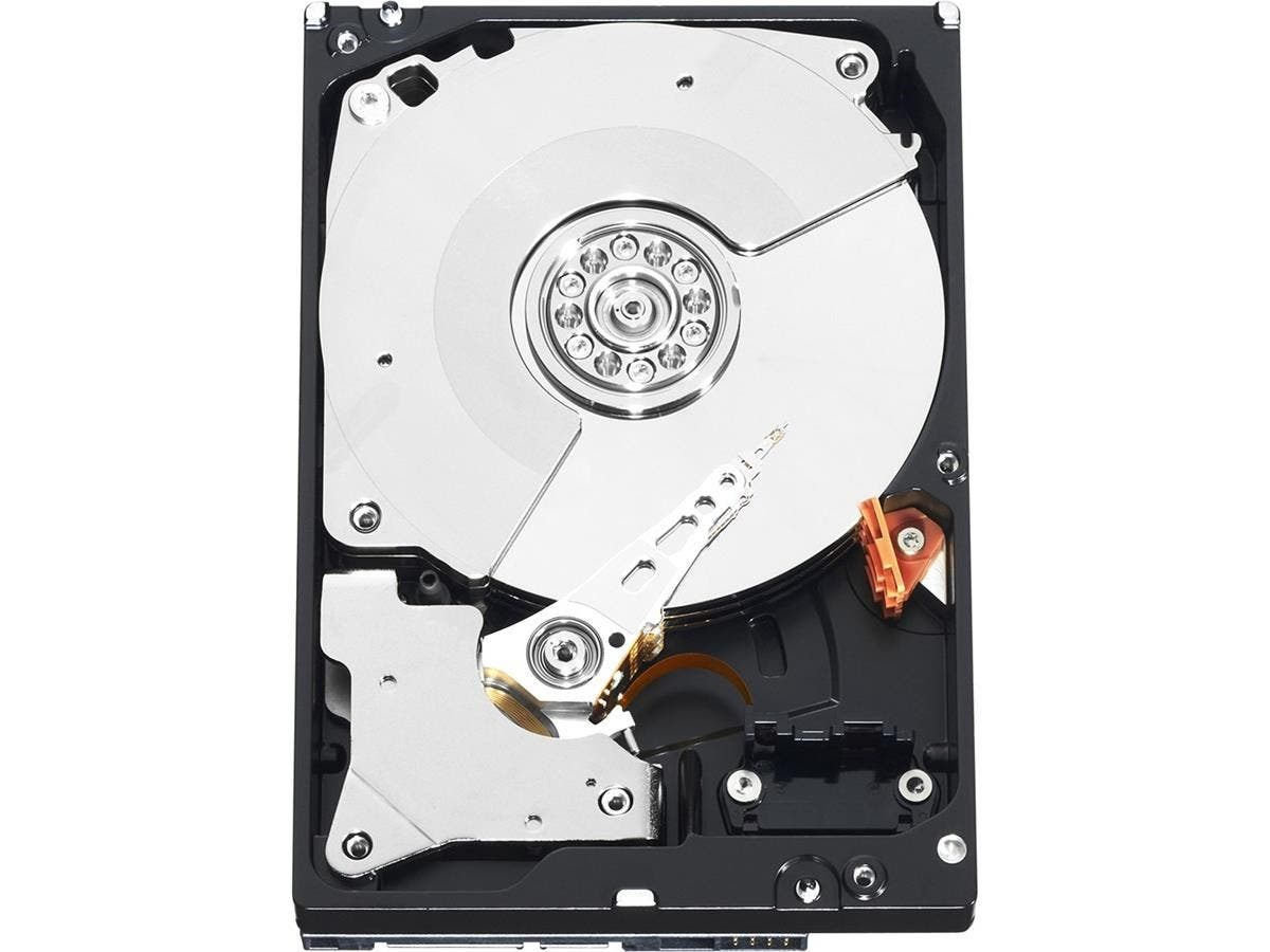 "WD Black WD1002FAEX 1 TB 3.5"" Internal Hard Drive - SATA - 7200rpm - 64 MB Buffer - Hot Swappable-Large-Image-1"