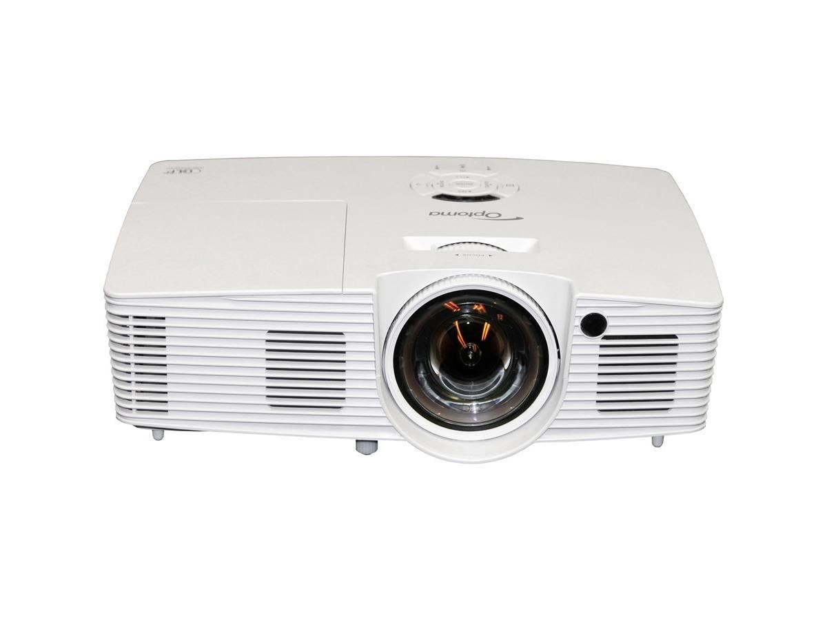 Optoma W316ST WXGA 3600 Lumen Full 3D DLP Short Throw Projector with 20,000:1 Contrast Ratio - 2.8 - 210 W - NTSC, PAL, SECAM - 4000 Hour Normal Mode - 6000 Hour Economy Mode - 1280 x 800-Large-Image-1