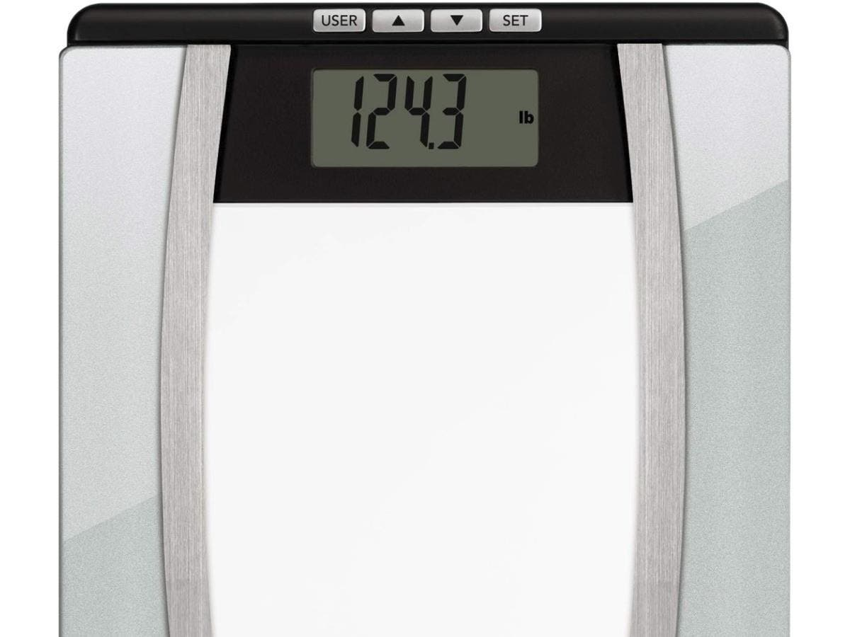 Weight Watchers Glass Body Analysis Scale - 400 lb - Tempered Glass, Glass