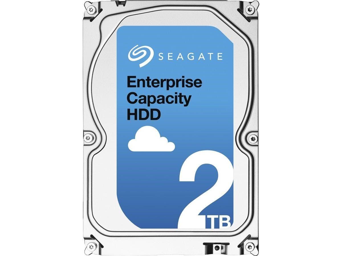 """Seagate ST2000NM0004 2 TB 3.5"""" Internal Hard Drive - SATA - 7200rpm - 128 MB Buffer"""