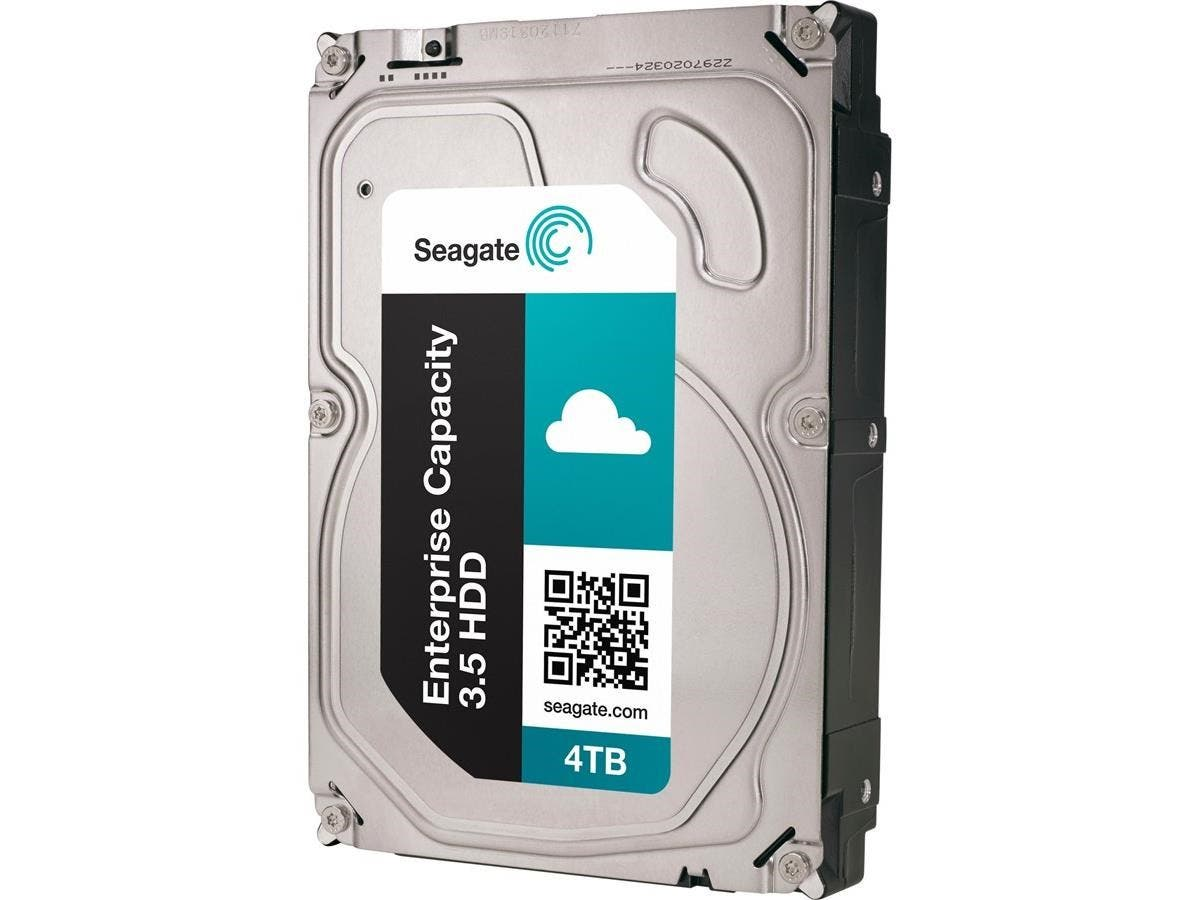 "Seagate ST4000NM0004 4 TB 3.5"" Internal Hard Drive - SATA - 7200rpm - 128 MB Buffer"