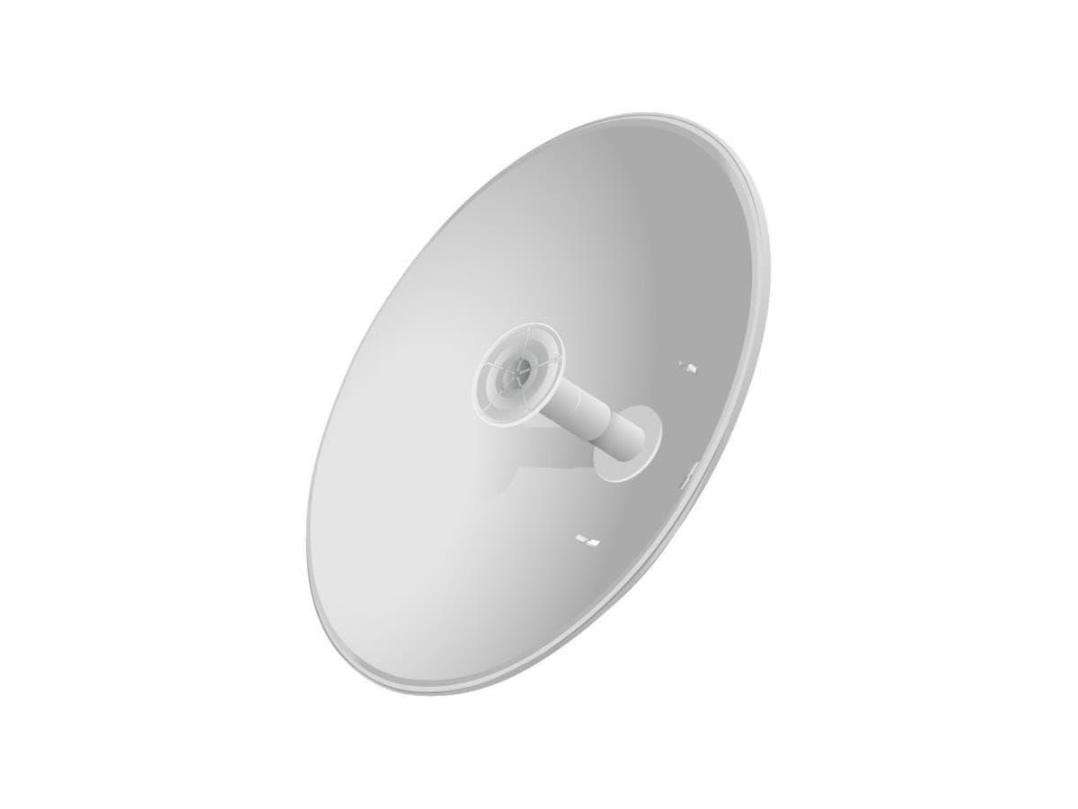 Ubiquiti Networks airMAX 2x2 PtP Bridge Dish Antenna - Range - SHF - 5.10 GHz to 5.90 GHz - 30 dBi RD-5G30-LW