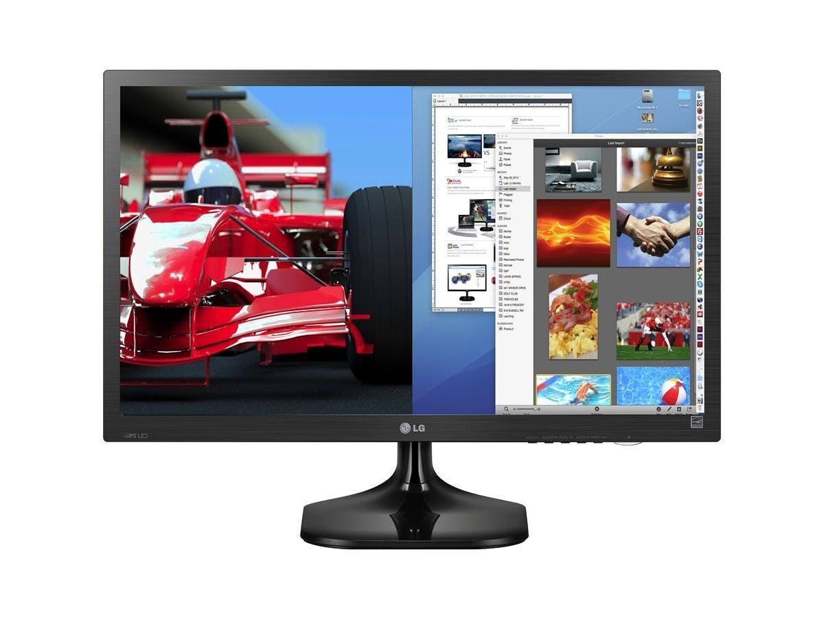 "LG 27MC37HQ-B 27"" LED LCD Monitor - 16:9 - 5 ms - 1920 x 1080 - 16.7 Million Colors - 200 Nit - 5,000,000:1 - Full HD - DVI - VGA - 31 W - Black Hairline, Textured Black - ENERGY STAR 6.0"