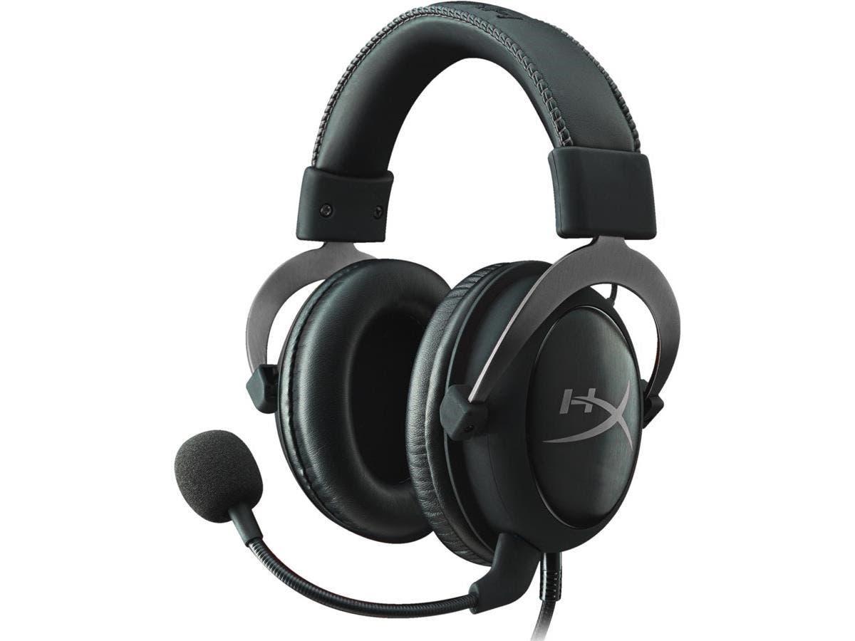 HyperX Cloud II Gaming Headset for PC & PS4 - Gun Metal (KHX-HSCP-GM)-Large-Image-1