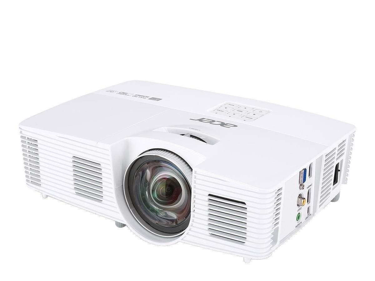 Acer H6517ST 3D Ready DLP Projector - 1080p - HDTV - 16:9 - Front, Rear, Ceiling2.8 - OSRAM - 210 W - NTSC, PAL, SECAM - 4000 Hour Normal Mode - 6000 Hour Economy Mode - 1920 x 1080 - Full HD - 10,000