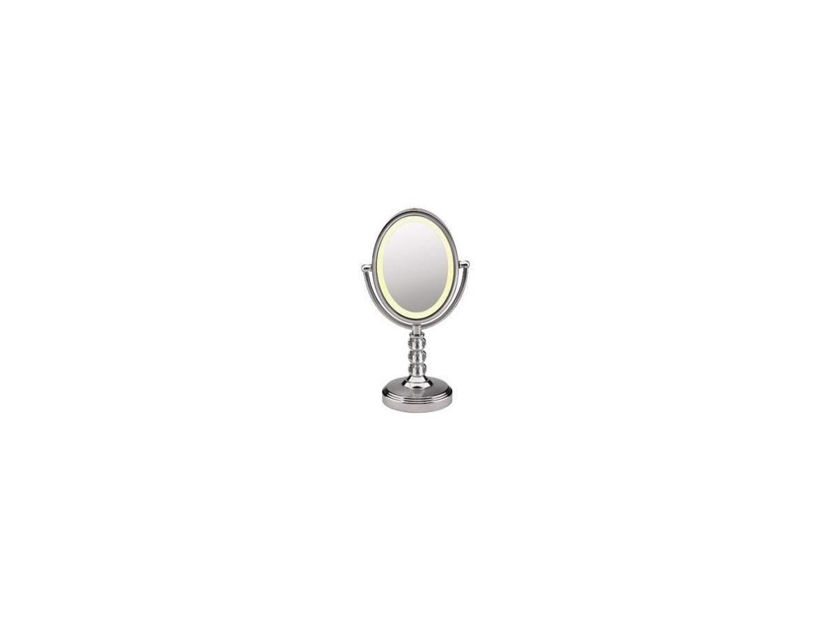 Conair Oval Crystal Ball Accent Mirror - Oval - Polished Chrome