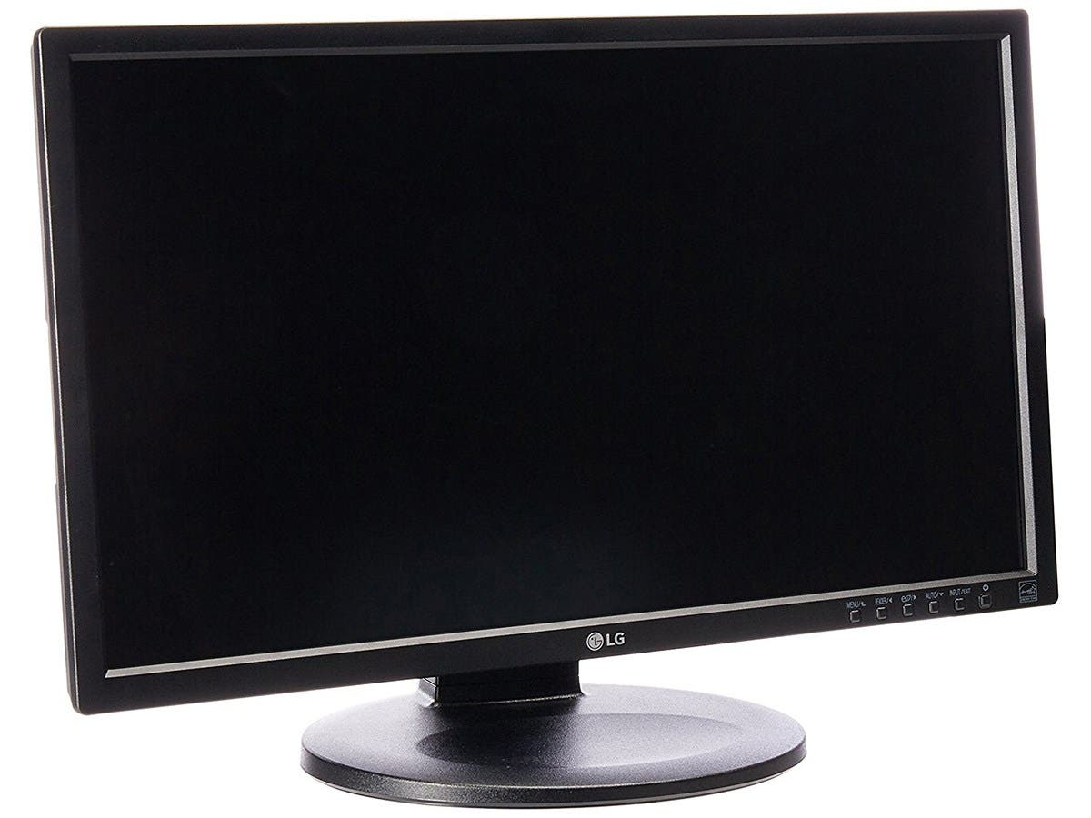 "LG Electronics 22MB35PY-I IPS Professional 21.5"" Screen LED-Lit Monitor -Large-Image-1"