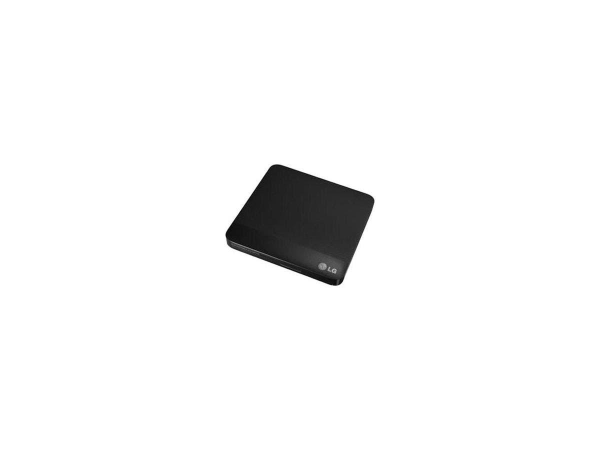 LG WP50NB40 External Blu-ray Writer - Black - BD-R/RE Support - 24x CD Read/24x CD Write/16x CD Rewrite - 6x BD Read/6x BD Write/2x BD Rewrite - 8x DVD Read/8x DVD Write/8x DVD Rewrite - Double-layer