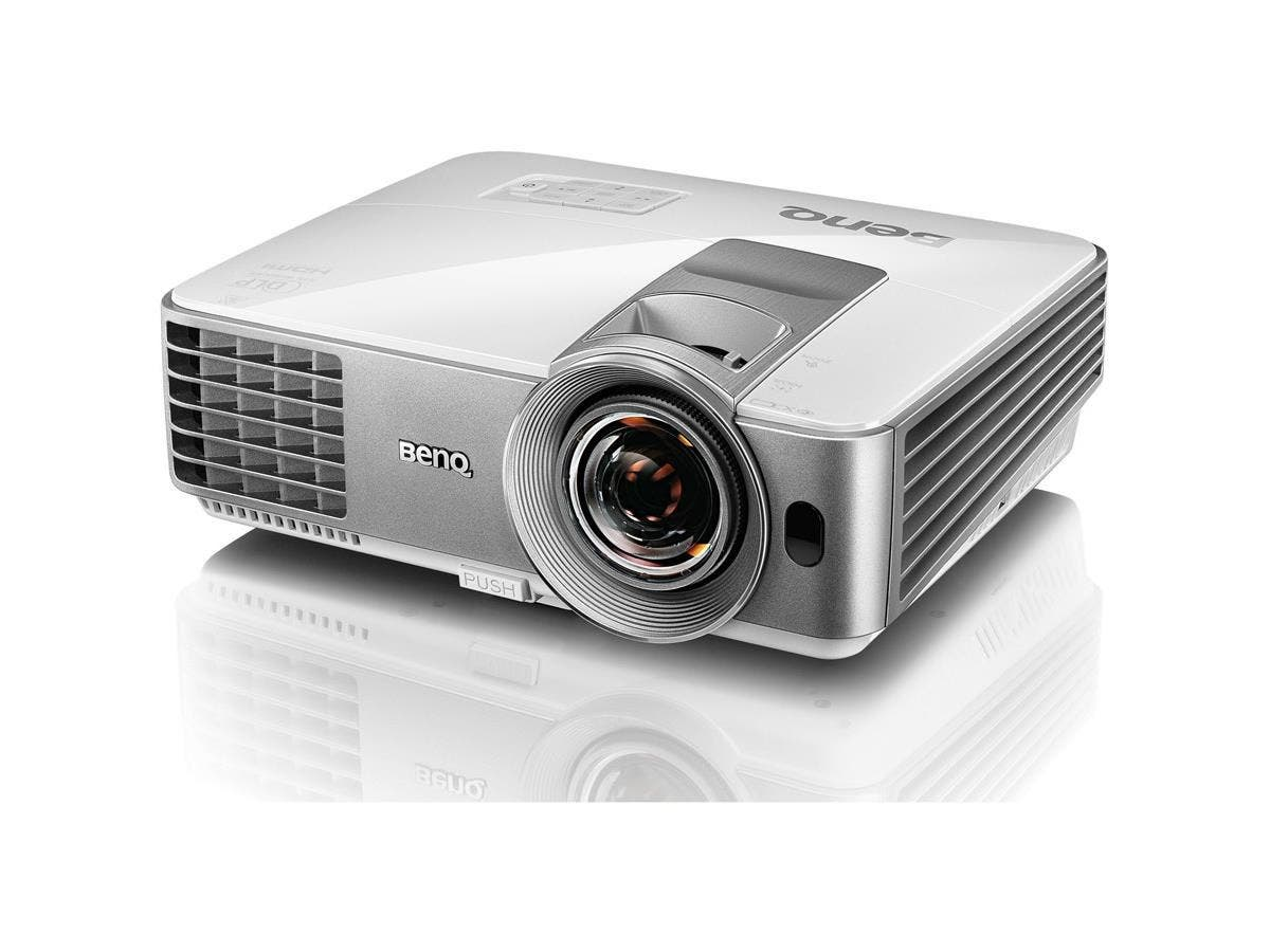 BenQ MW632ST 3D Ready DLP Projector - 720p - HDTV - 16:10 - Front, Ceiling - 196 W - 4000 Hour Normal Mode - 6000 Hour Economy Mode - 1280 x 800 - WXGA - 13,000:1 - 3200 lm - HDMI - USB - 305 W-Large-Image-1