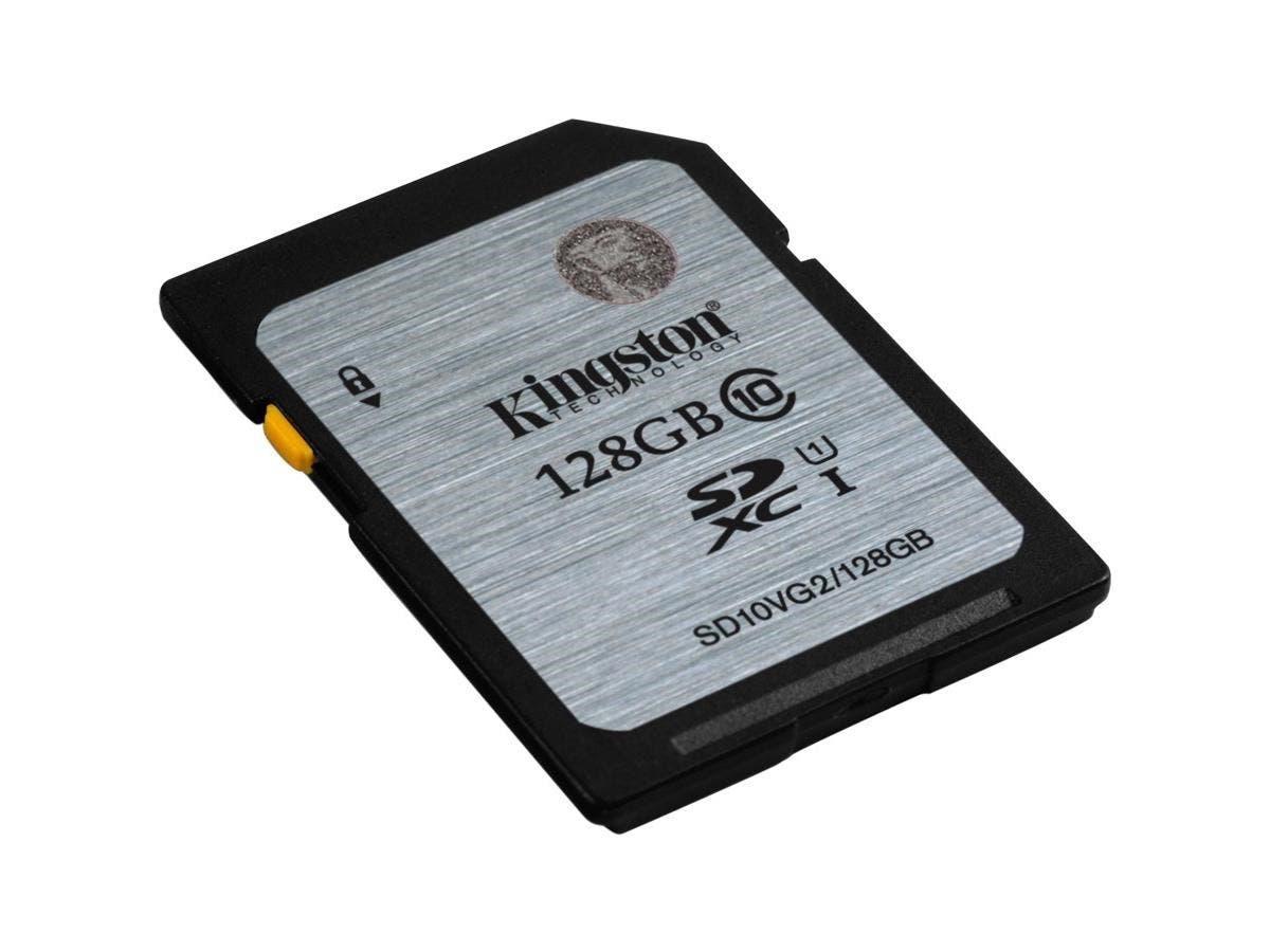 Kingston 128 GB SDXC - Class 10/UHS-I (U1) - 45 MB/s Read