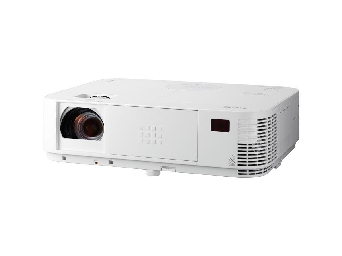 NEC Display NP-M403H 3D Ready DLP Projector - 1080p - HDTV - 16:9 - Front, Ceiling, Rear - AC - 270 W - 3500 Hour Normal Mode - 8000 Hour Economy Mode - 1920 x 1080 - Full HD - 10,000:1 - 4000 lm-Large-Image-1