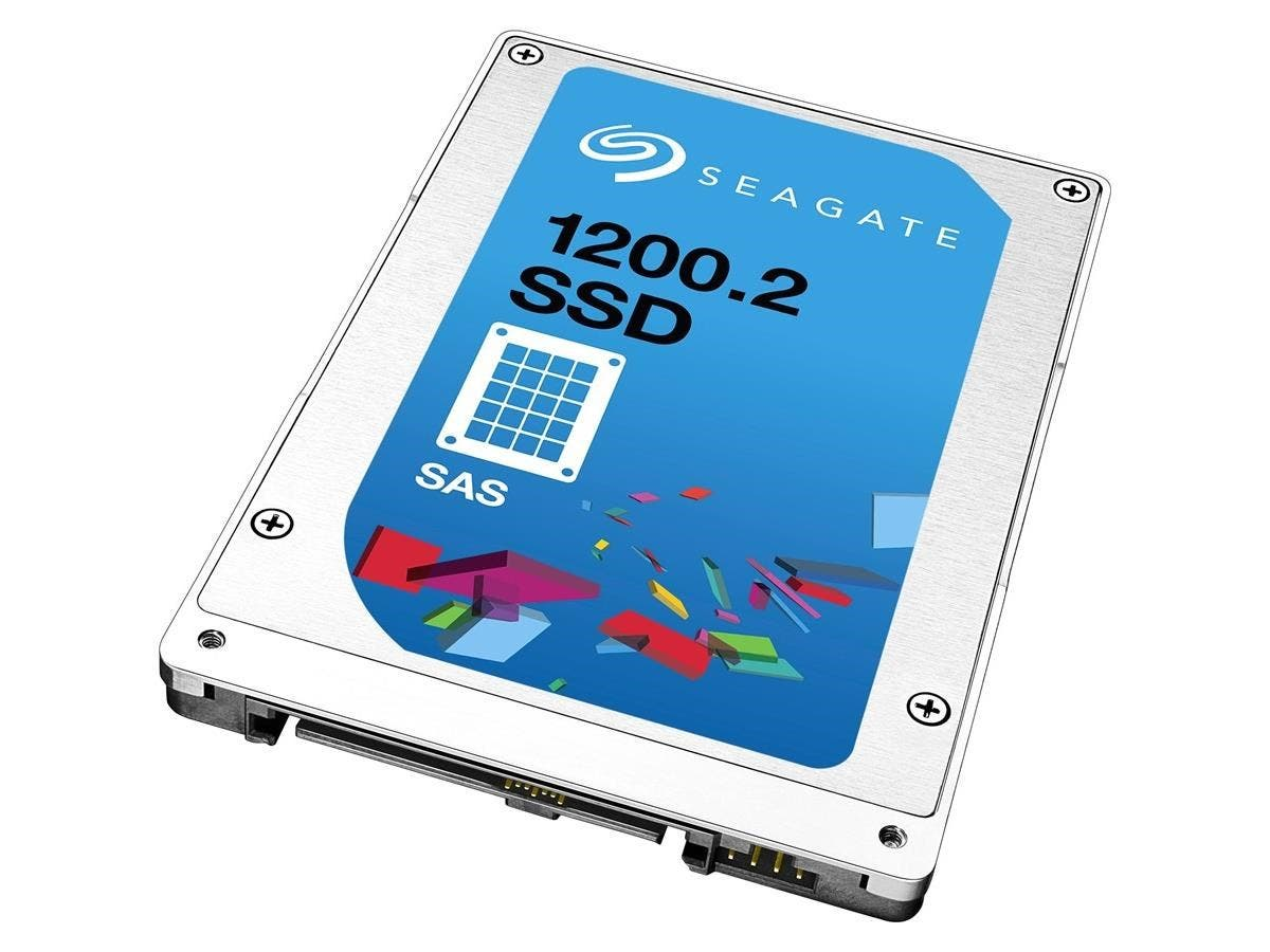"Seagate 1200.2 ST400FM0293 400 GB 2.5"" Internal Solid State Drive - SAS - 1.76 GB/s Maximum Read Transfer Rate - 600 MB/s Maximum Write Transfer Rate-Large-Image-1"