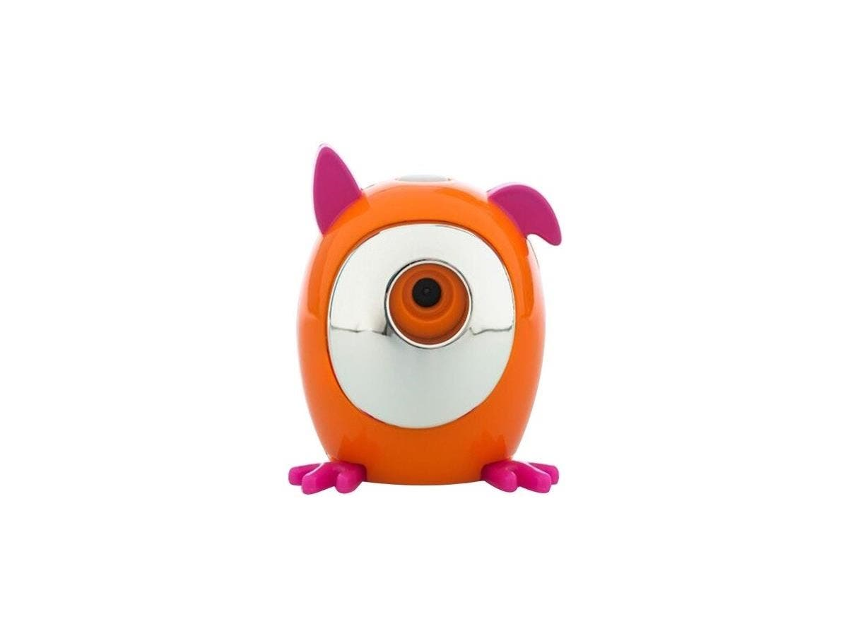 WowWee Snap Pets Dog, Peach/Pink - Snap Pet Dog - Snap pictures- Hands-free - APP for Direct Share - Take Pictures On the Go - Portable-Large-Image-1