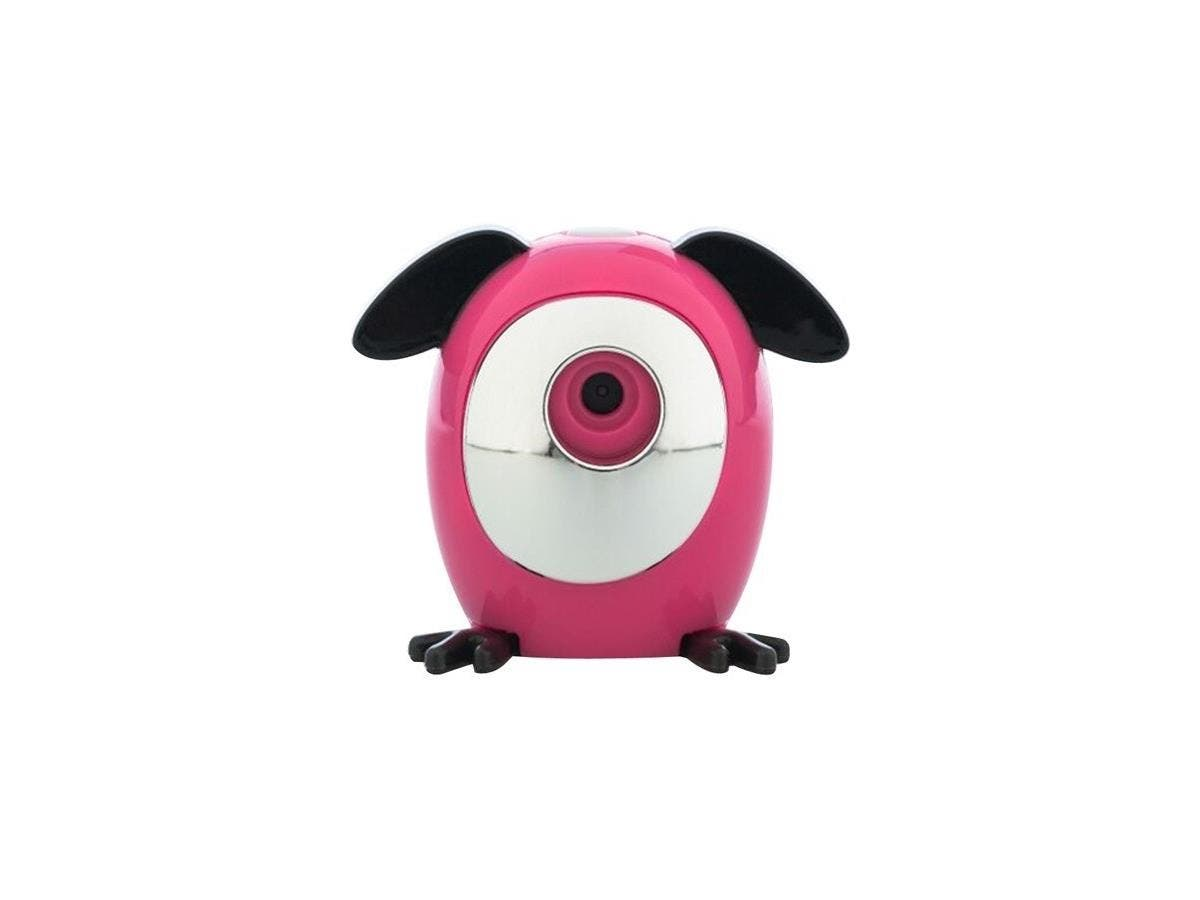 WowWee Snap Pets Rabbit, Pink/Black - Snap Pet Cat- Snap pictures- Hands-free - APP for Direct Share - Take Pictures On the Go - Portable-Large-Image-1