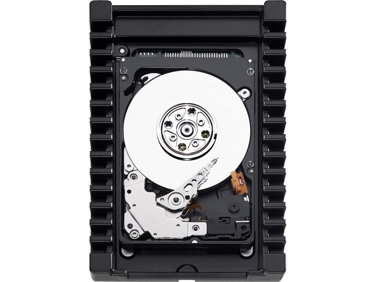 "WD VelociRaptor WD2500HHTZ 250 GB 3.5"" Internal Hard Drive - SATA - 10000rpm - 64 MB Buffer-Large-Image-1"