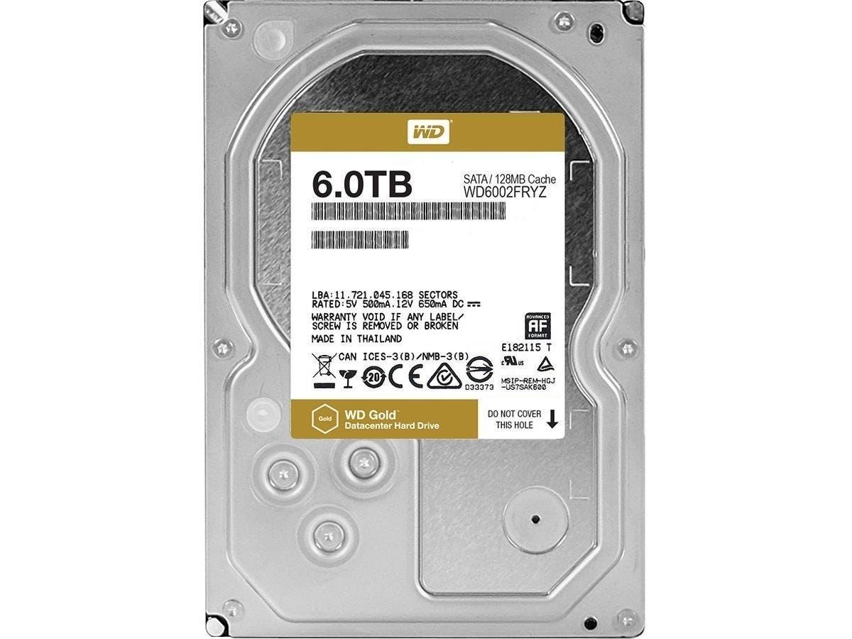 "Western Digital WD VelociRaptor WD5000HHTZ 500GB 10000 RPM 64MB Cache SATA 6.0Gb/s 3.5"" Internal Hard Drive Bare Drive"