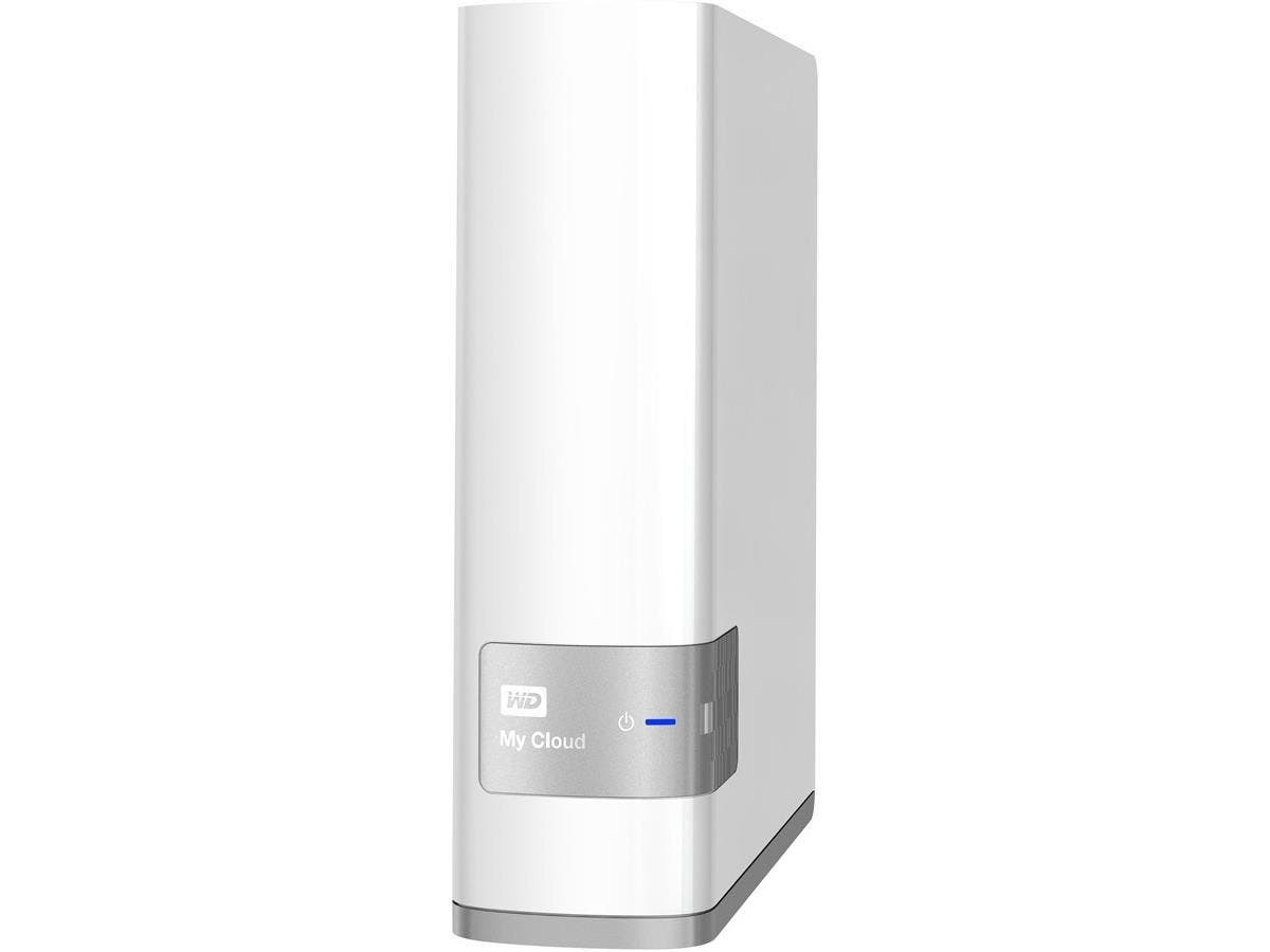 WD 8TB My Cloud Personal Network Attached Storage - NAS - WDBCTL0080HWT-NESN