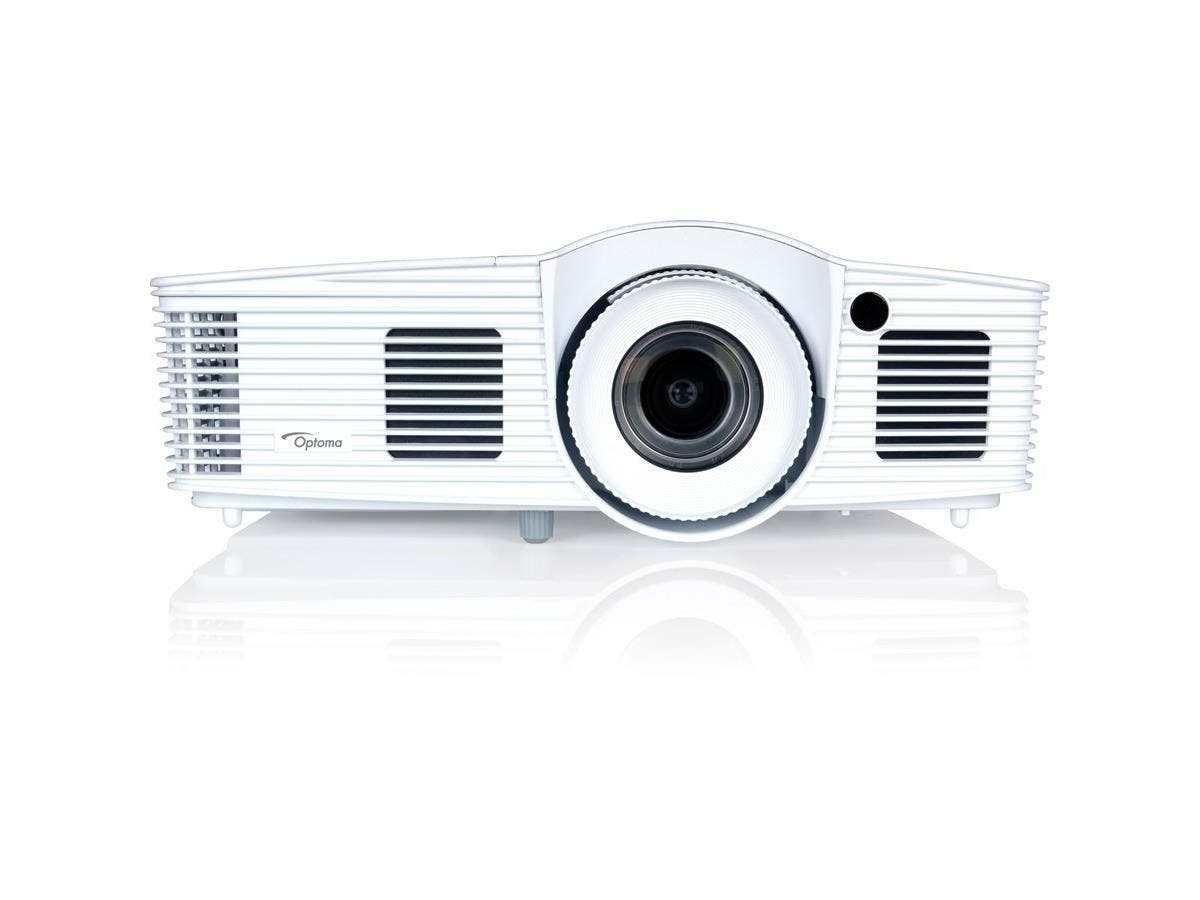 Optoma EH416 3D DLP Projector - 1080p - HDTV - 16:9 - Front, Ceiling - 260 W - 3000 Hour Normal Mode - 5000 Hour Economy Mode - 1920 x 1080 - Full HD - 20,000:1 - 4200 lm - HDMI - USB -Large-Image-1