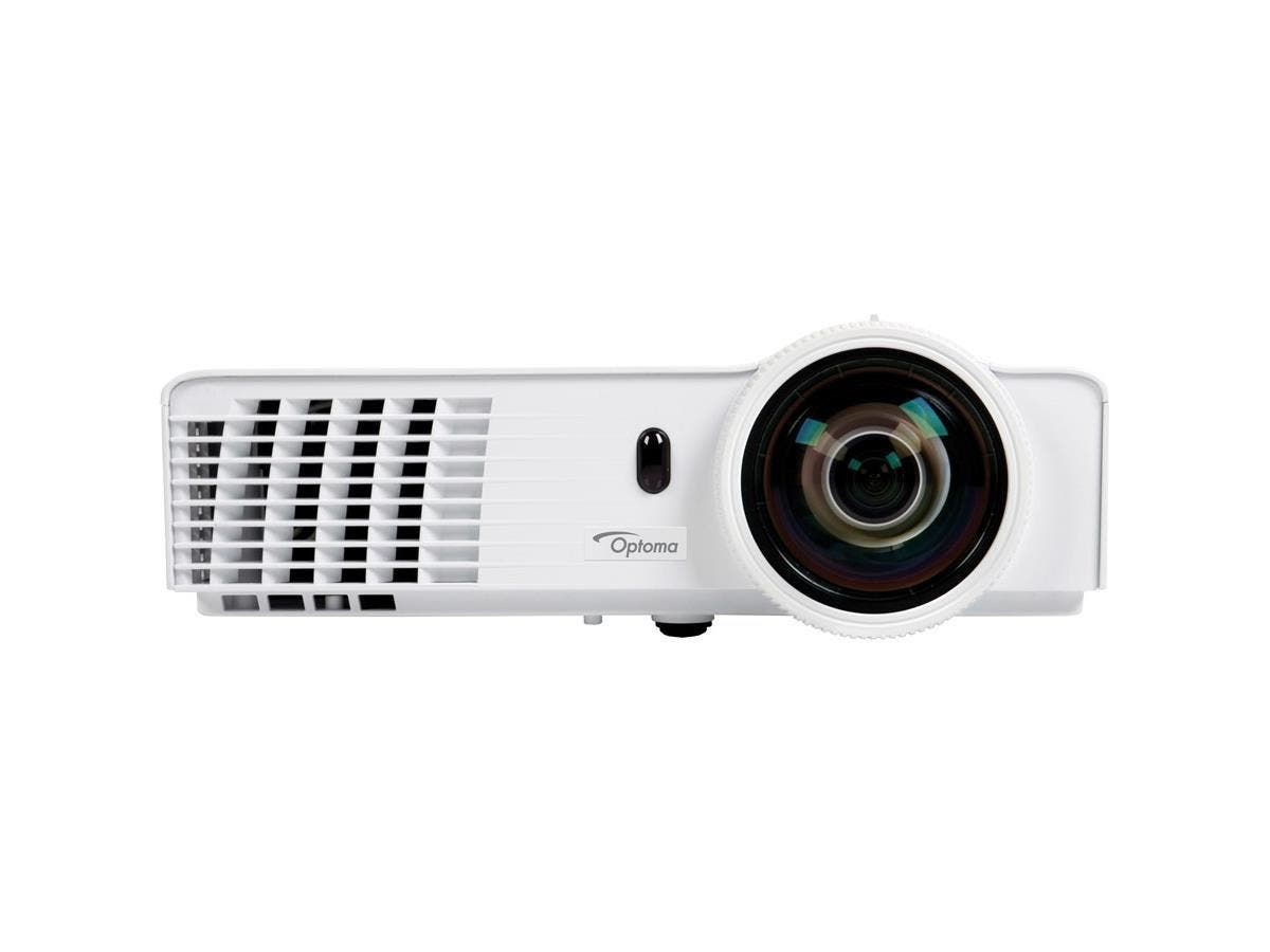 Optoma GT760A 3D DLP Projector - 720p - HDTV - 16:10 - Ceiling, Front, Rear - UHP - 190 W - 4500 Hour Normal Mode - 6000 Hour Economy Mode - 1280 x 720 - 20,000:1 - 3200 lm - HDMI - USB - 258 W-Large-Image-1