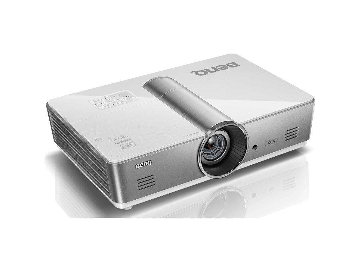 BenQ SX920 3D Ready DLP Projector - 720p - HDTV - 4:3 - Front, Ceiling - 370 W - 2000 Hour Normal Mode - 2500 Hour Economy Mode - 1024 x 768 - XGA - 5,000:1 - 5000 lm - HDMI - USB - 490 W - 3 Year War-Large-Image-1