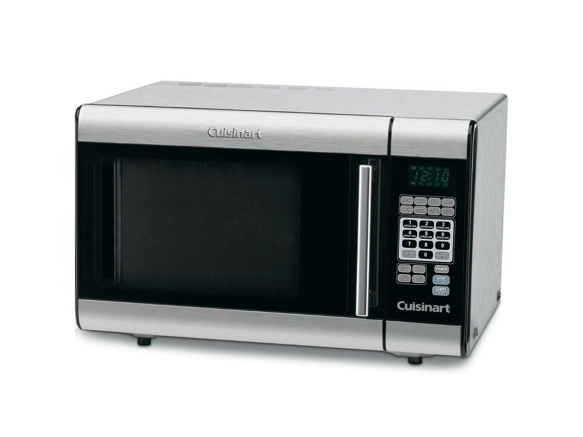 Cuisinart CMW-100 1-Cubic-Foot Stainless Steel Microwave Oven (Refurbished)