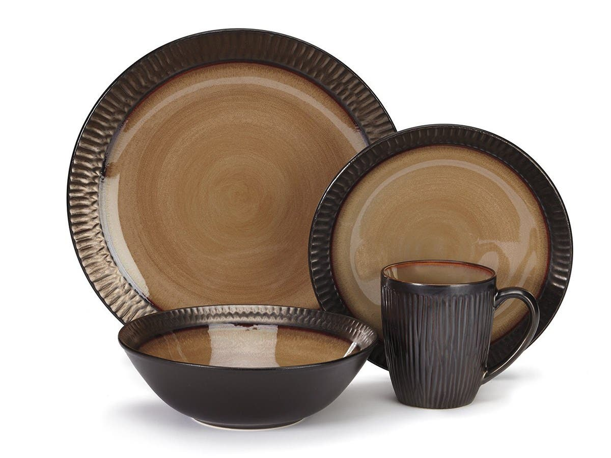 Cuisinart Stoneware Alba Collection 16-Piece Dinnerware Sets