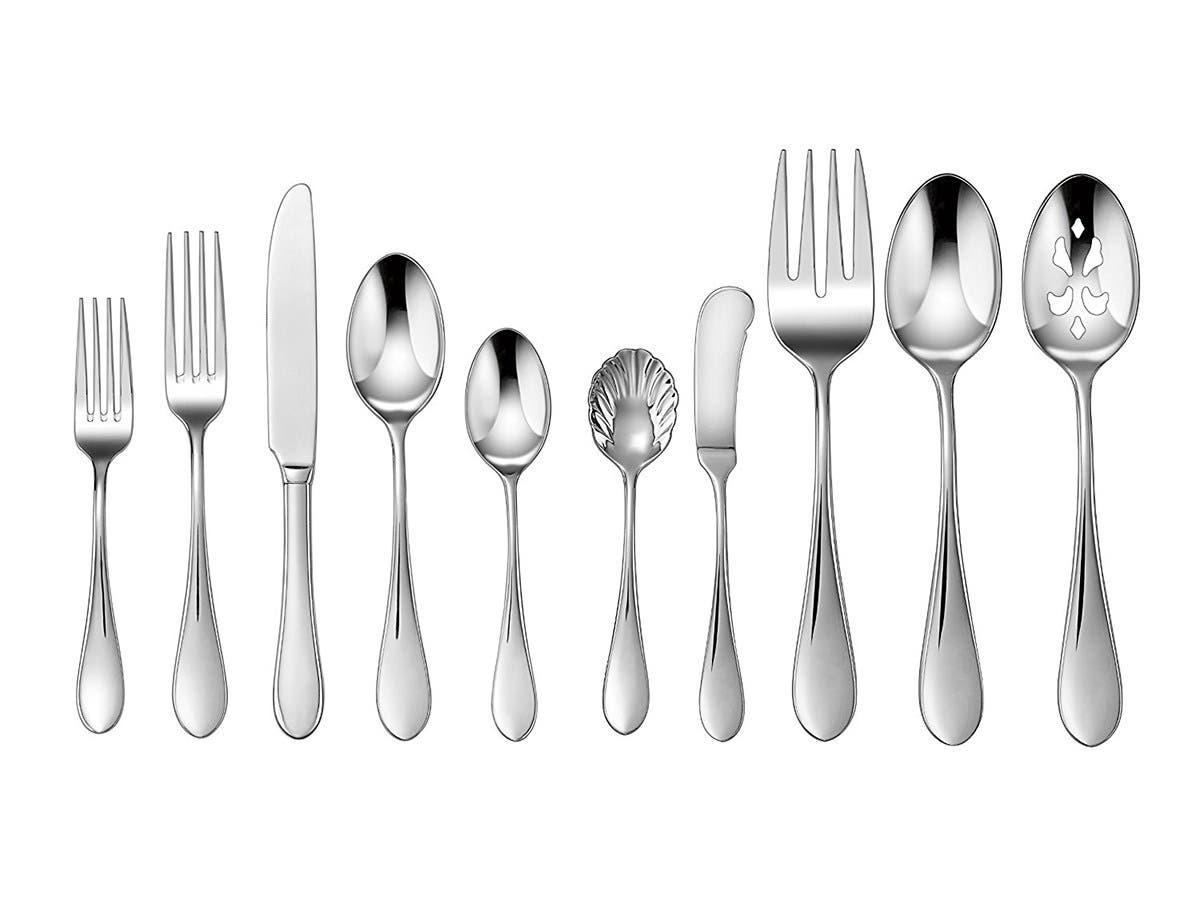 Cuisinart 45-Piece Flatware Set, Irais