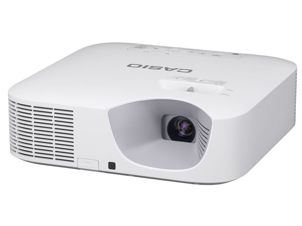 Casio XGA 3300lm DLP Advanced Projector - Power USB 5V/2A Miracast Wired RJ45 XJ-F20XN-Large-Image-1