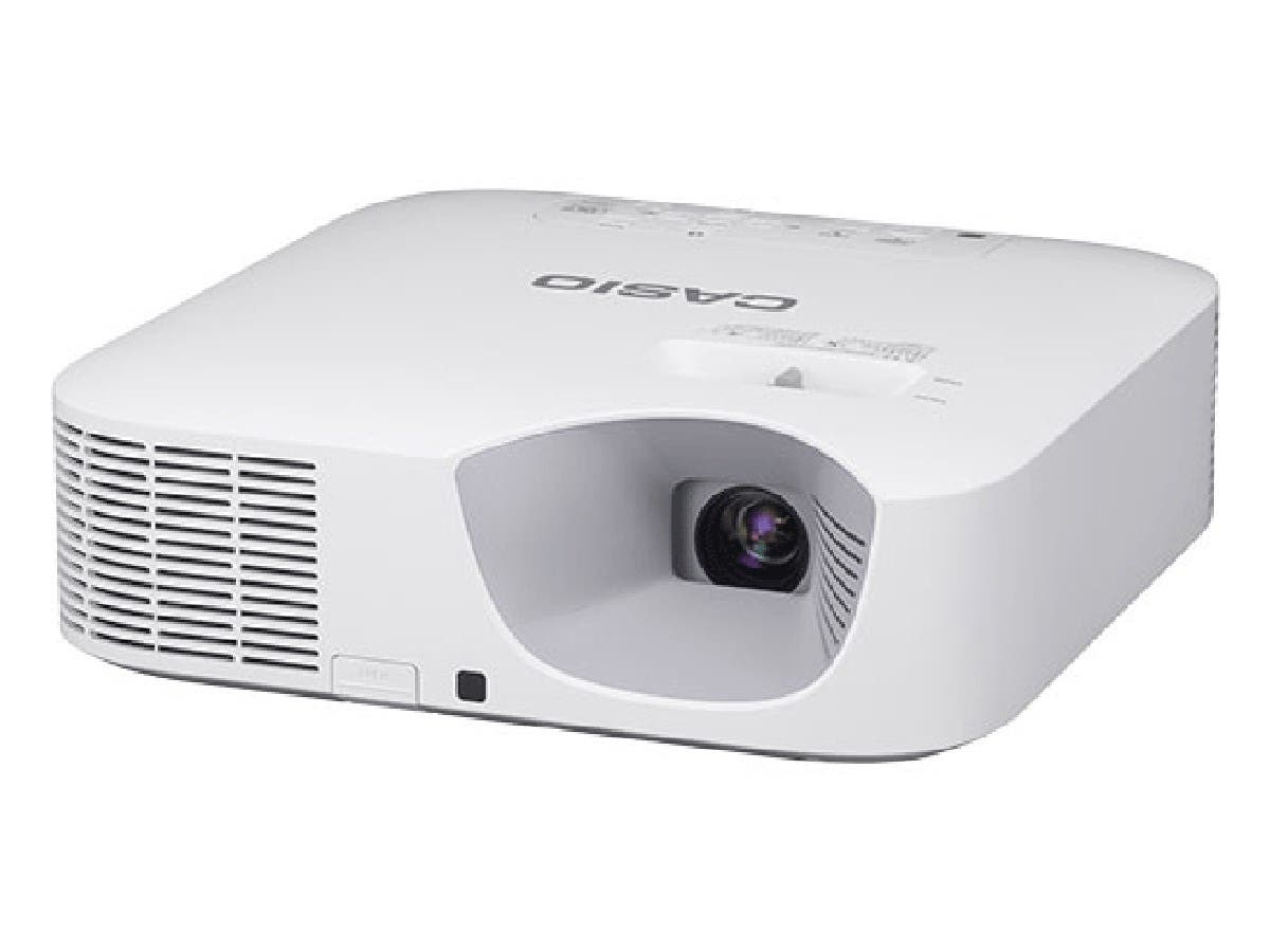 Casio XJ-F210WN Ultra Video Advanced Projector 3500 lumens 1280x800 WXGA Resolution 5V/2A Miracast Wired RJ45-Large-Image-1