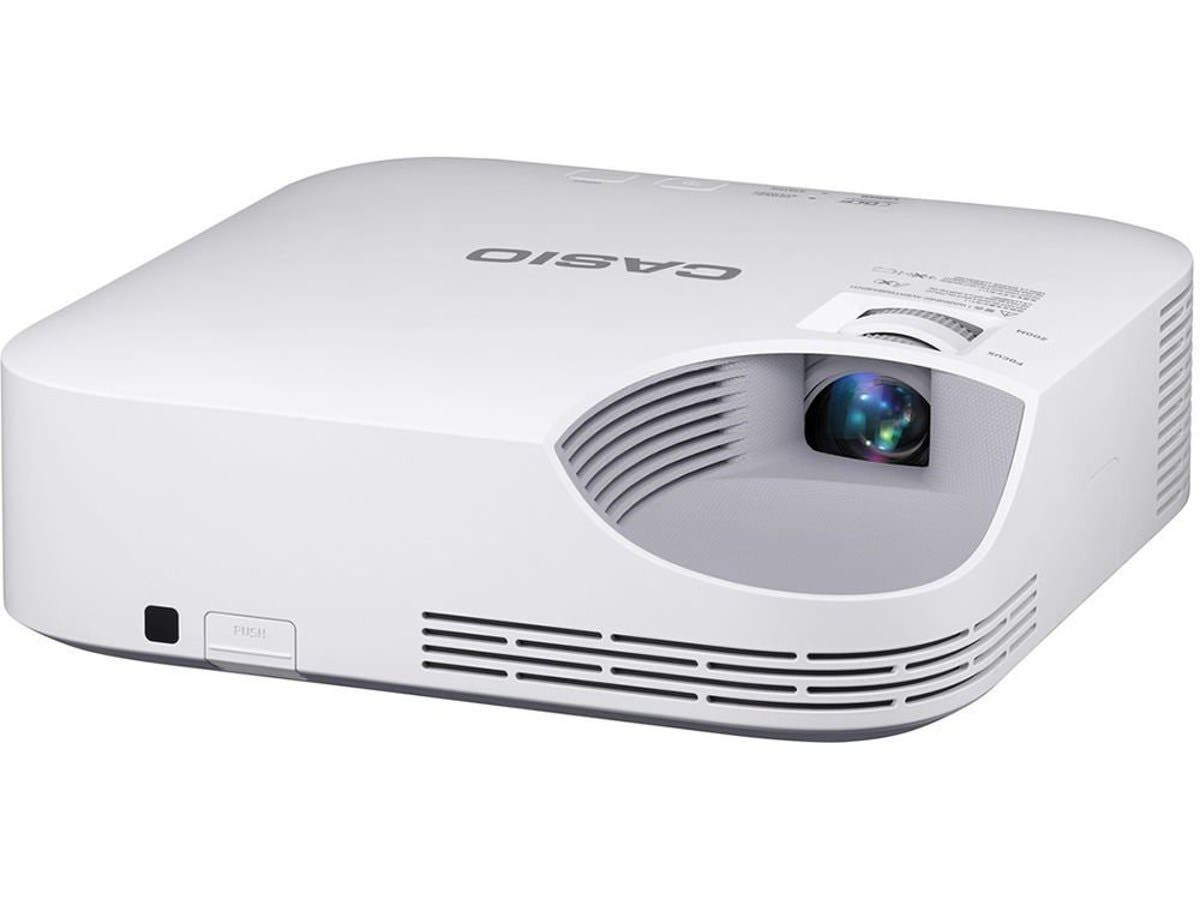 Casio XJ-F10X WXGA, Ultra Video Projector 3300L XGA 20K:1 HDMI VGA USB 5v Power Miracast Compatibility-Large-Image-1