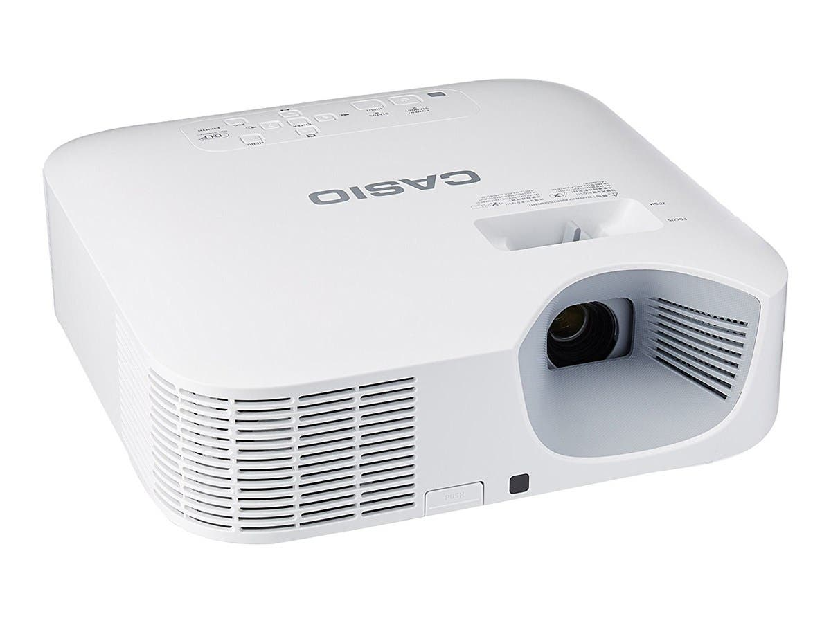 Casio XJ-F100W WXGA 3500Lm DLP Projector USB Power USB 5V/2A Miracast Compatible