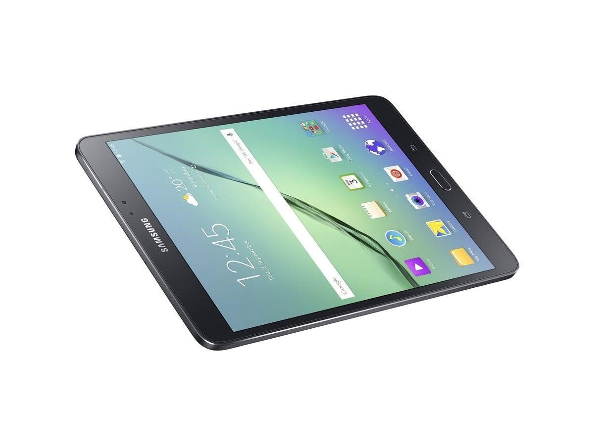 "Samsung Galaxy Tab S2 SM-T713 32 GB Tablet - 8"" - Wireless LAN Octa-core (8 Core) 1.80 GHz - Black - 3 GB RAM - Android 6.0 Marshmallow - Slate - 2048 x 1536 Multi-touch Screen 4:3 Display-Large-Image-1"