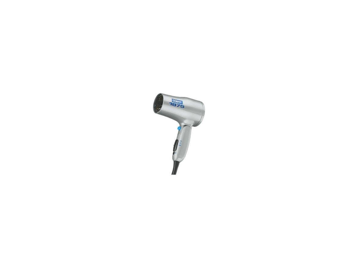 Conair 127LZ Folding Handle 1875W Hair Dryer - 1875 W - Ionic - Handheld - AC Supply Powered