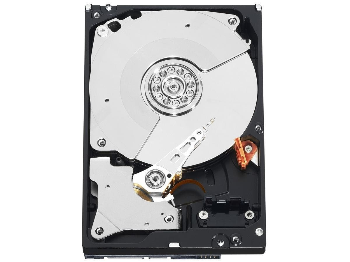 "WD WD1002FBYS 1 TB 3.5"" Internal Hard Drive - SATA - 7200rpm - 32 MB Buffer - Hot Swappable - 1 Pack - Bulk-Large-Image-1"