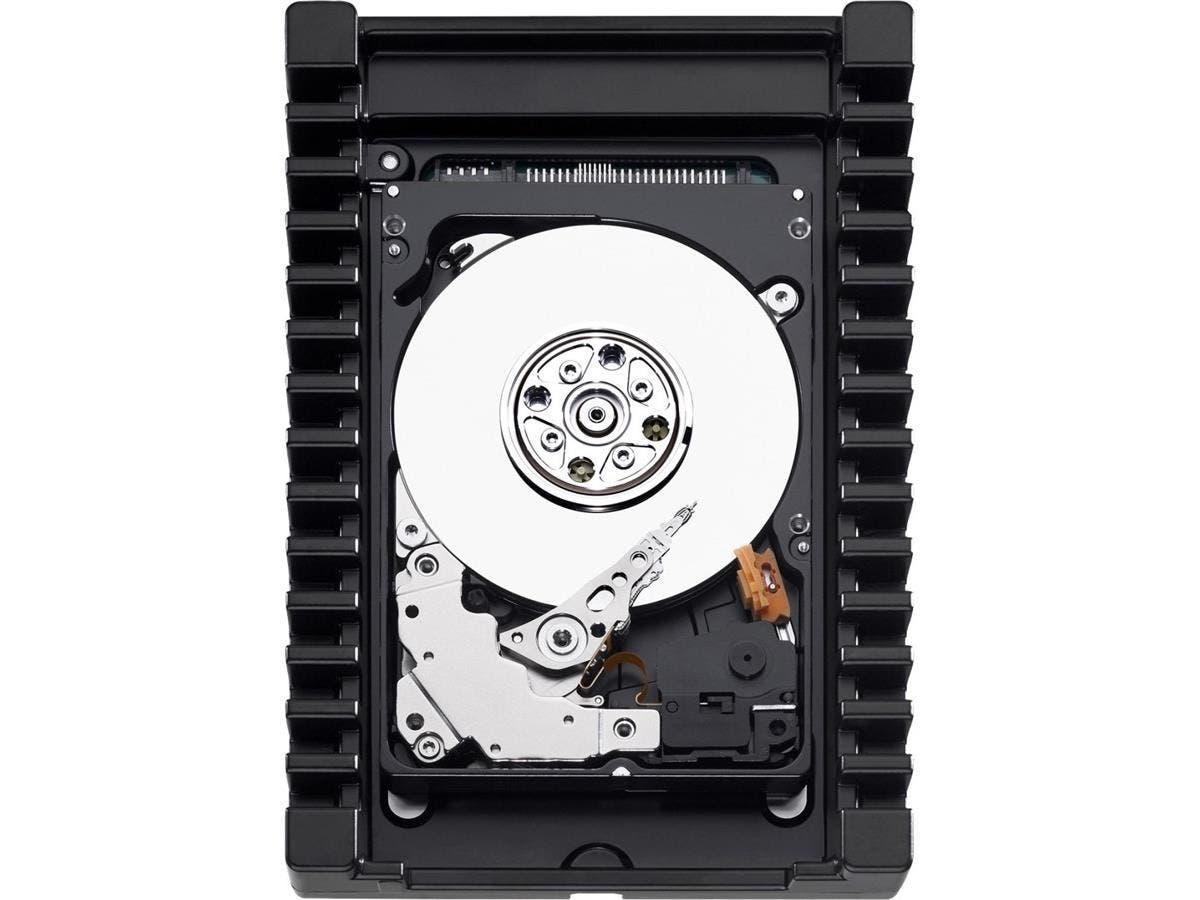 "WD VelociRaptor WD1000CHTZ 1 TB 2.5"" Internal Hard Drive - SATA - 10000rpm - 64 MB Buffer-Large-Image-1"