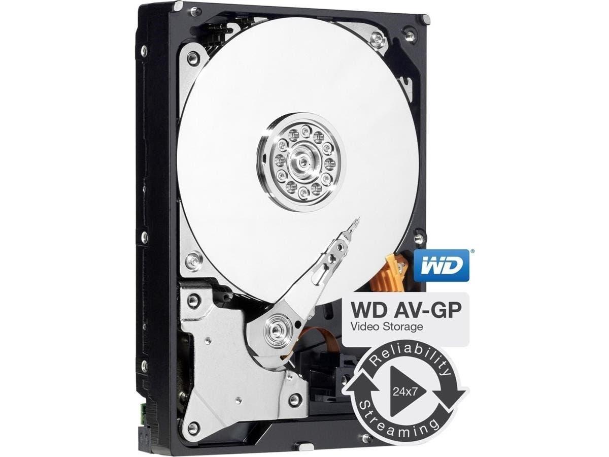 "WD AV-GP WD5000AVCS 500 GB 3.5"" Internal Hard Drive - SATA - Hot Swappable"